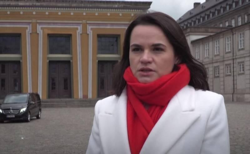 Tikhanovskaya exortou a União Europeia a aumentar a pressão sobre a Bielorrússia