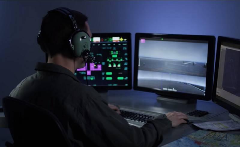 美国海军开始为MQ-25A黄貂鱼无人油轮操作员进行培训