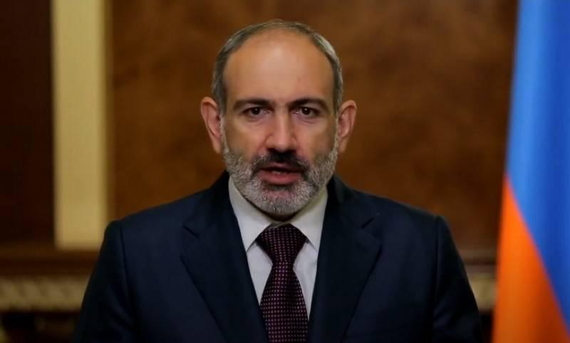 Пашинян - Израилю: Направляйте вашу гуманитарную помощь наёмникам и террористам