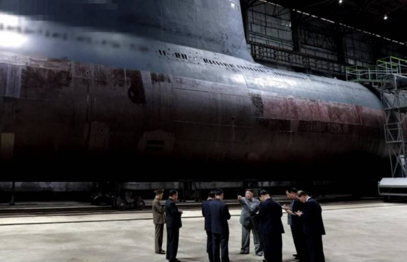 North Korea is building two submarines capable of carrying ballistic missiles