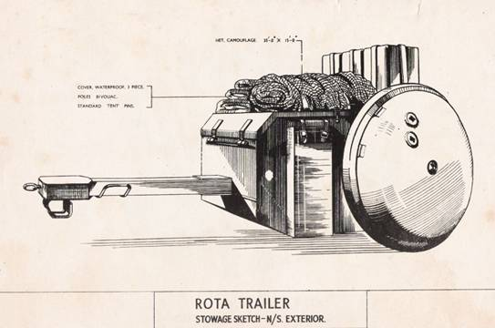 Rotatrailer tank trailer (UK)