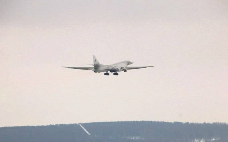 Deeply modernized Tu-160M ​​made its first flight with new NK-32-02 engines