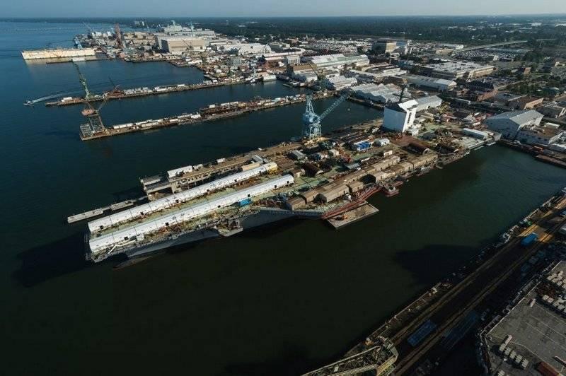 USS John F. Kennedy (CVN 79) aircraft carrier changed completion program