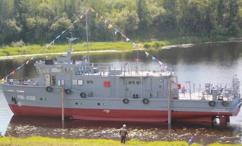 La più recente imbarcazione per immersioni subacquee del progetto 23040 è entrata a far parte della Flotta del Nord