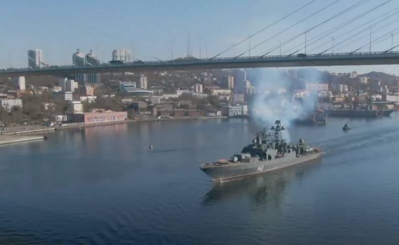 """Die modernisierte Fregatte """"Marschall Shaposhnikov"""" begann mit den Vorbereitungen für die letzte Testphase"""
