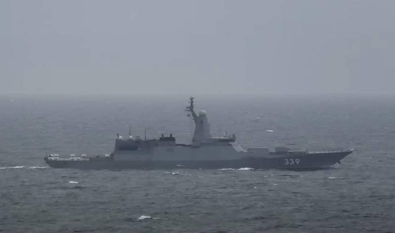 """轻武装快舰项目20380"""" Aldar Tsydenzhapov""""开始测试武器系统"""
