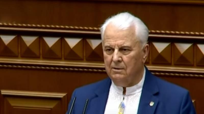 Kravchuk anunciou que o processo de negociação de Minsk no Donbass pode ser encerrado
