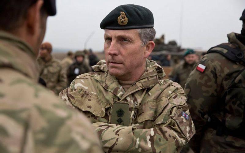 İngiliz General Carter'ın yüksek sesli açıklamaları
