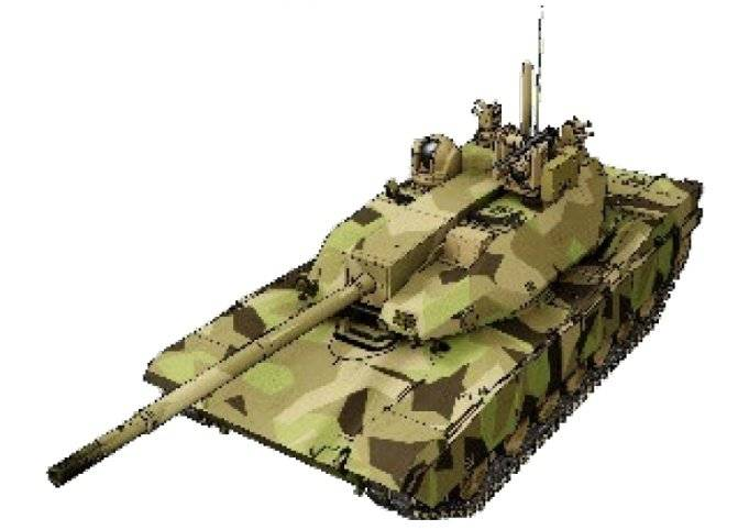 OMT program: unknown tank and known methods