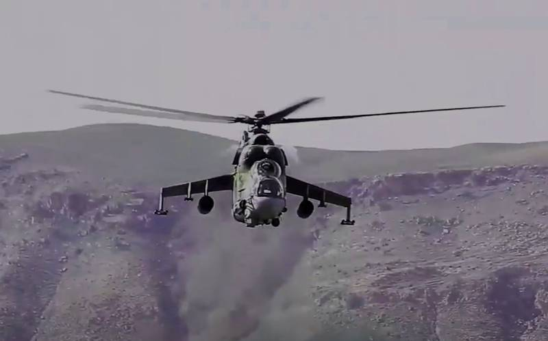 Russian helicopter Mi-24 could have been shot down from Turkey