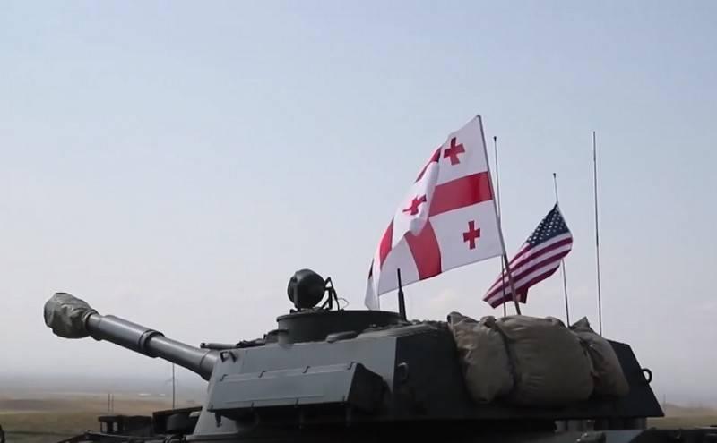 미국은 카라 바흐에서 러시아의 행동에 대응하여 조지아 주에 군사 주둔을 강화할 계획