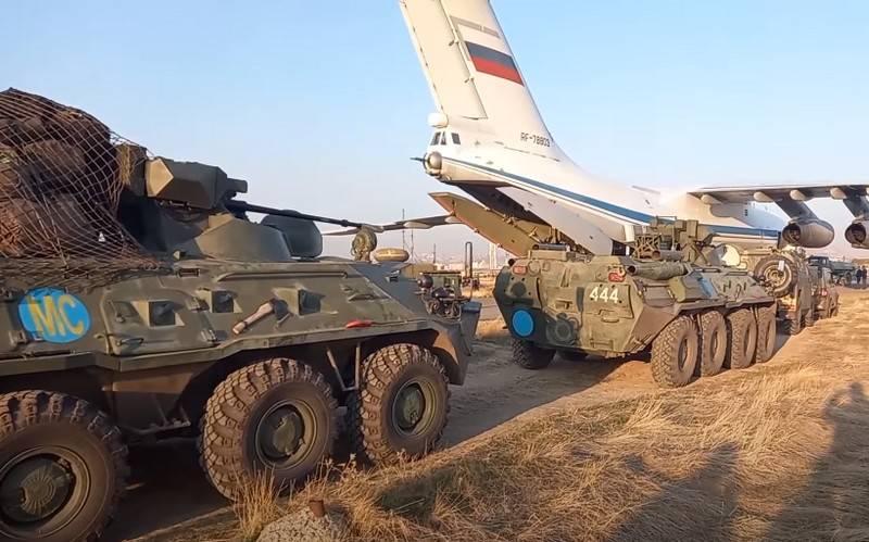 Lavrov: Dağlık Karabağ'da Türk barış gücü olmayacak