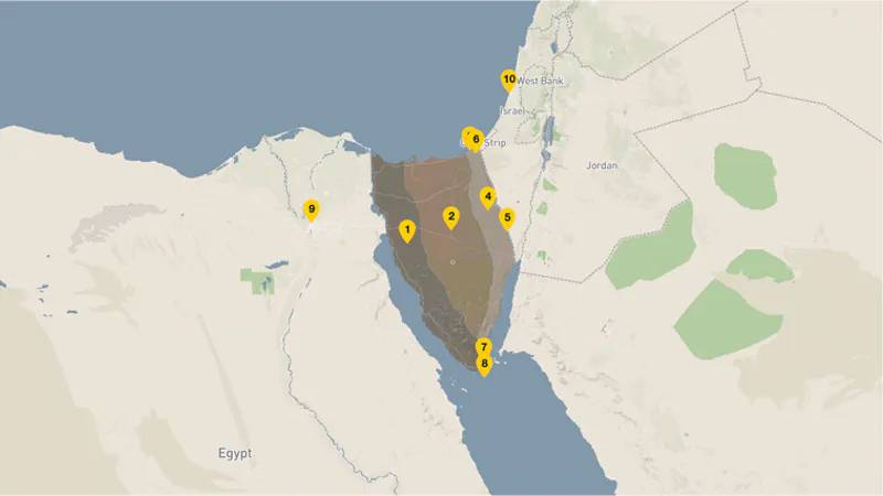 Peacekeeping helicopter crashed on Sinai: six US military and two Europeans were killed