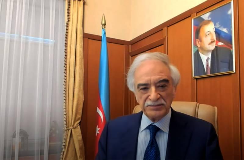 """Respuesta al Embajador de Azerbaiyán del Ministerio de Relaciones Exteriores de la Federación de Rusia: Si """"en la guerra como en la guerra"""", la respuesta para el helicóptero sería aplastante."""