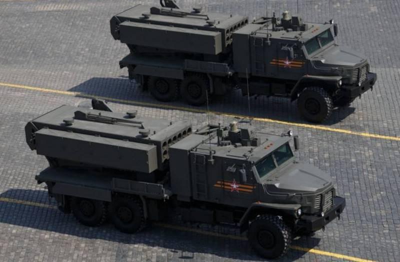Le système de lance-flammes lourd TOS-2 est en cours d'opération militaire expérimentale