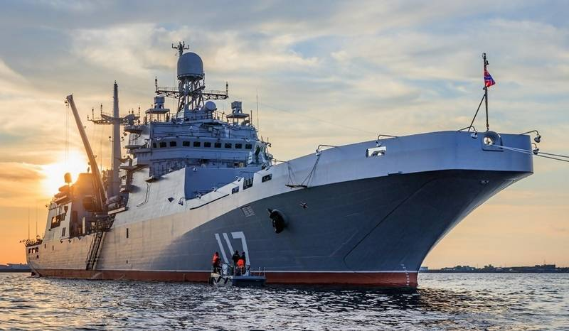 "Large landing craft ""Petr Morgunov"" has completed the program of state tests"
