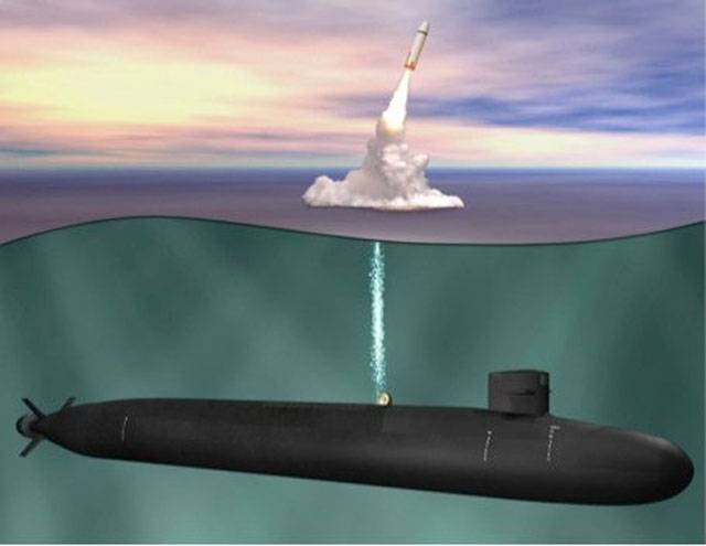 The task of the decade: construction of the head SSBN of the Columbia type has begun