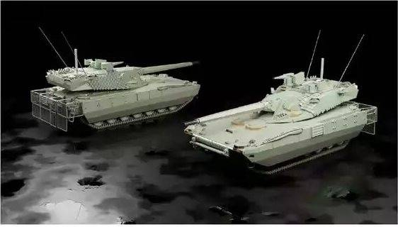 New details of the OMT program: variants of the appearance of tanks