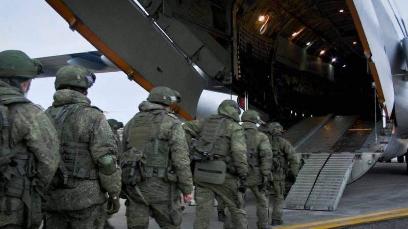 Von allen Seiten erwarten russische Friedenstruppen eine Gefahr