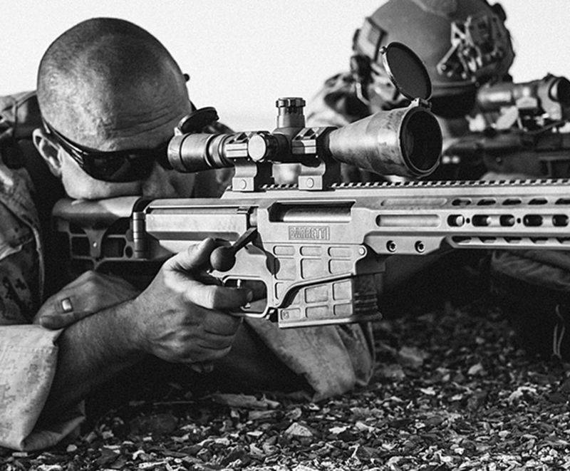 US special forces chose Mark 22 Barrett (MRAD) sniper rifle