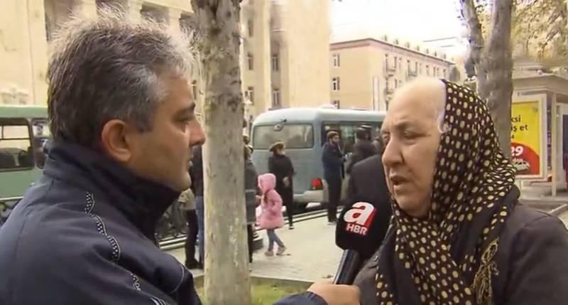 «Мы доверяем турецкому, а не русскому солдату»: из опроса турецким журналистом жителей азербайджанской Гянджи