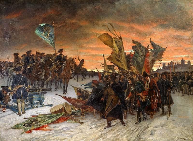 Нарвская катастрофа русской армии