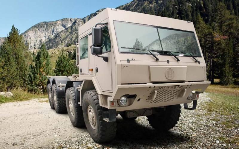 क्रेज के दिवालियापन के कारण, यूक्रेनी सेना ने एक भी टाट्रा चेसिस पर स्विच करने की योजना बनाई