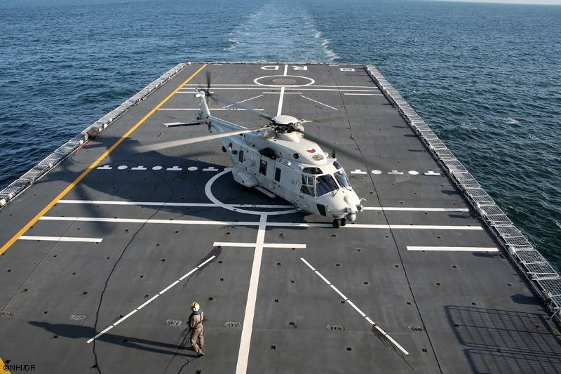 Deck helicopter NH90 NFH. One vehicle for NATO countries