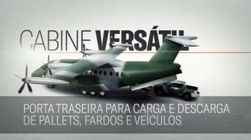 Бразилия разрабатывает военно-транспортный самолет с гибридной силовой установкой