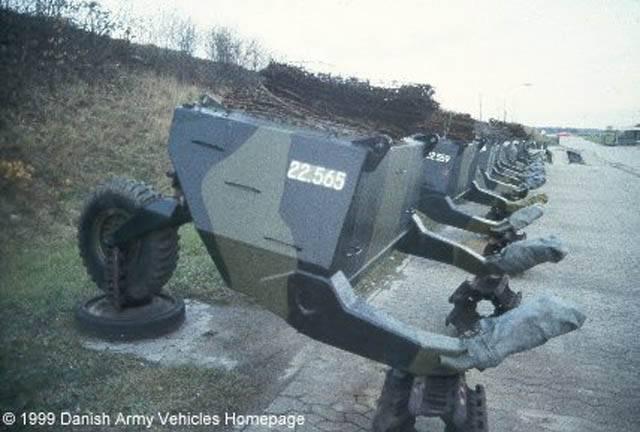 Танковый прицеп Mono Wheel Trailer: буксируемый бак для «Центуриона»