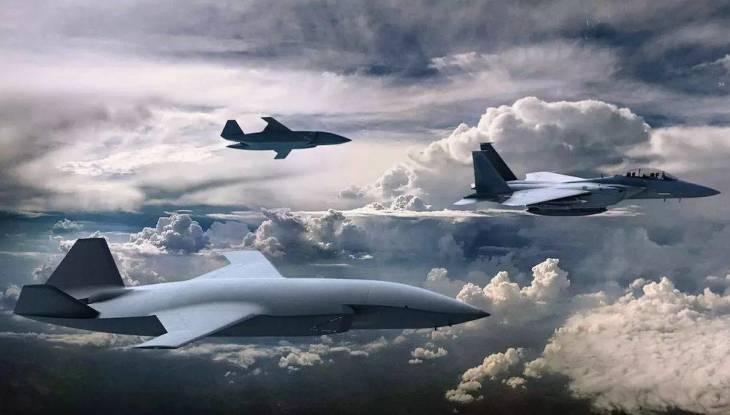 """Russian """"Valkyrie"""": slave UAV """"Thunder"""""""