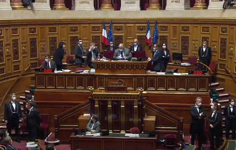 "In Baku: ""Resolution of the French Senate on Karabakh is just a piece of paper for us"""