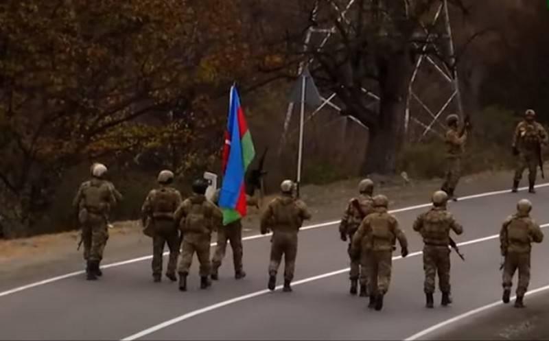 Kalbajar region of Karabakh transferred to Azerbaijan