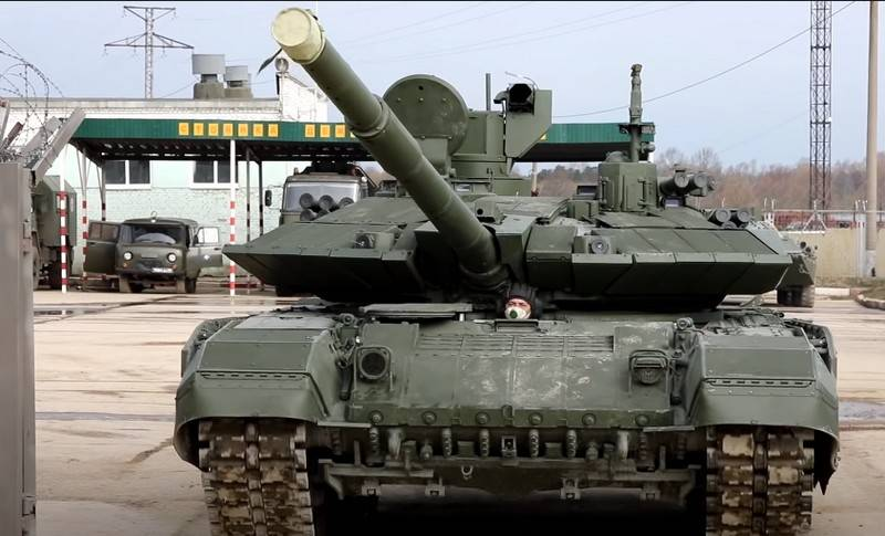 A new batch of modernized T-90M Proryv tanks delivered to the Ministry of Defense
