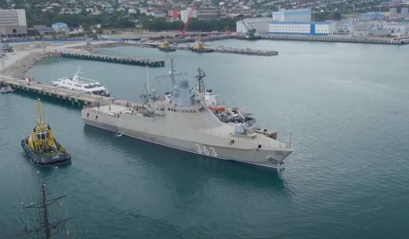"Patrol ship ""Pavel Derzhavin"" joined the Black Sea Fleet"