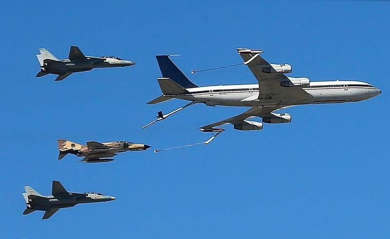 Air Force and Aerospace Forces of Iran.  Development problems