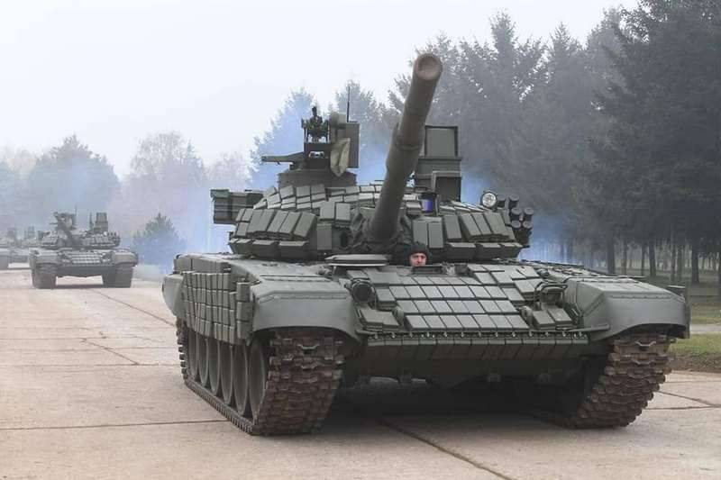 "Serbia thanked Russia for the transferred T-72MC ""White Eagle"" tanks"