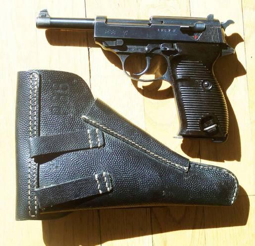 Использование трофейных немецких пистолетов в СССР