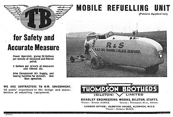 Airfield tanker Thompson Brothers P505 (Great Britain)