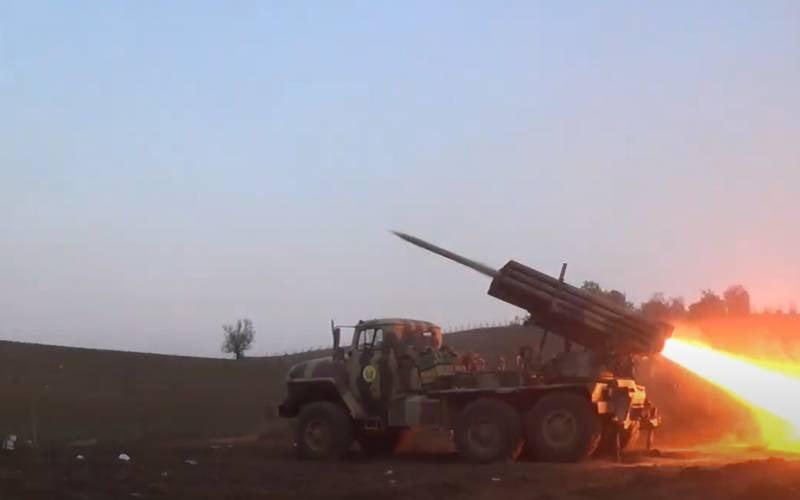 Войска Азербайджана нанесли удар по штабу в посёлке Красный Базар: обозначилась перспектива выхода на Степанакерт