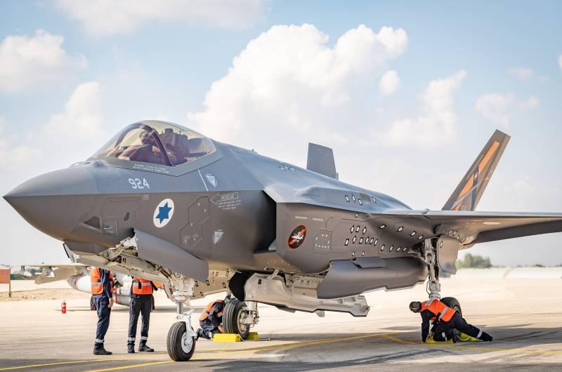 Летающая лаборатория F-35I для ВВС Израиля
