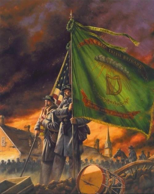 Irlandês na Guerra Civil Americana 1861-65