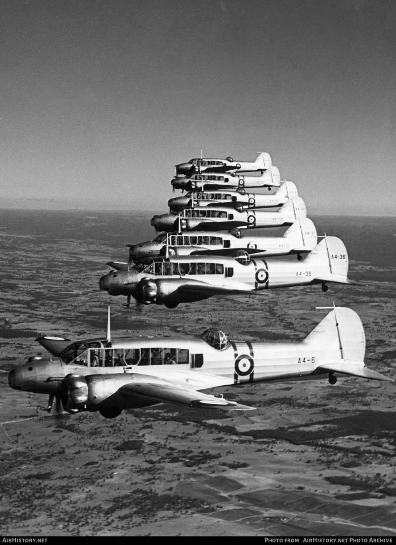 Боевые самолеты. Такой незаметный ветеран «Энсон»