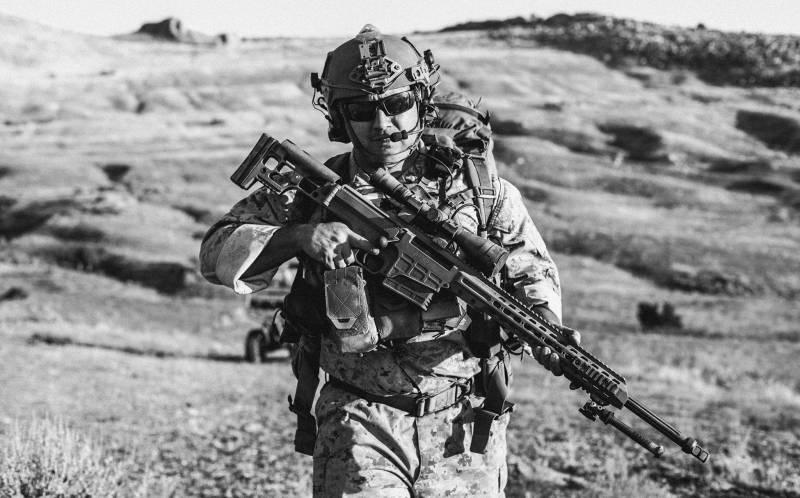 Американский спецназ выбрал снайперскую винтовку Mark 22 Barrett (MRAD)