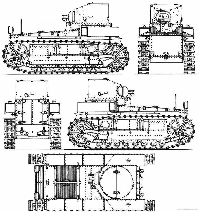 Американские опытные танки 20-х годов ХХ века