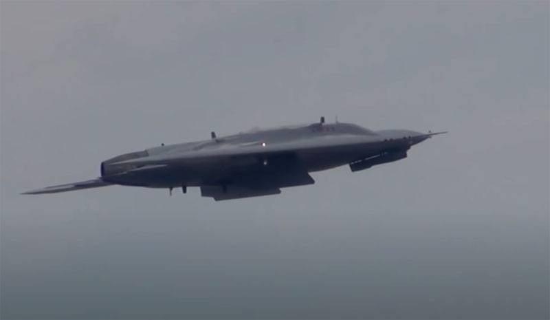 """攻击无人机"""" Okhotnik""""首次作为拦截机进行测试"""
