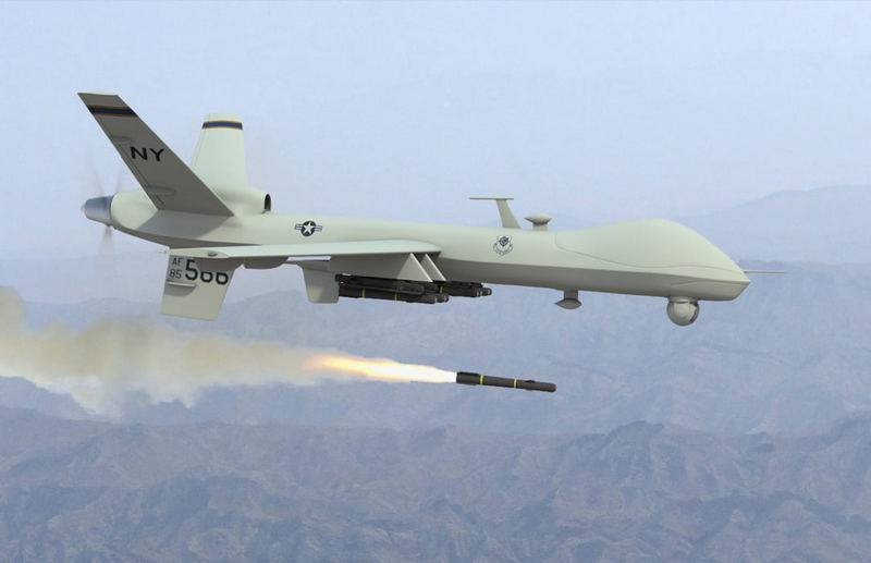 Attack drone of the USAF MQ-9 Reaper will check the air defense of Ukraine