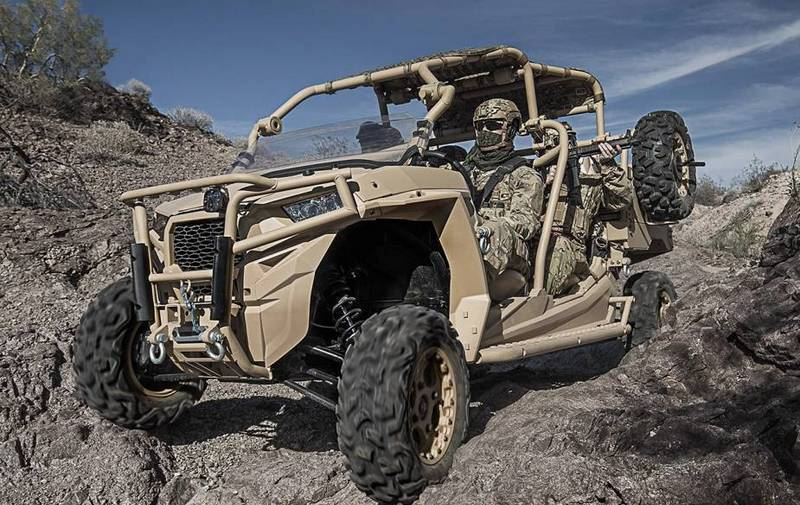 Bundeswehr special operations forces transfer to buggy