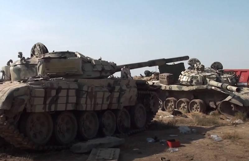 В Баку оценили потери военной техники ВС Армении в Нагорном Карабахе