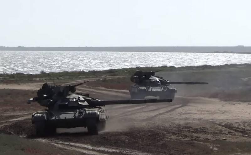 Модернизированные танки Т-64БМ «Булат» появились «во время учений» на Донбассе